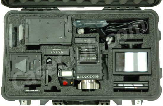 Red Digital Cinema EPIC-S35 Case - Foam Example