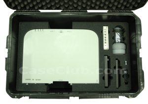 FSR CP-200 Dual Channel Switcher & NEC PA722X Projector Case - Custom Foam Example