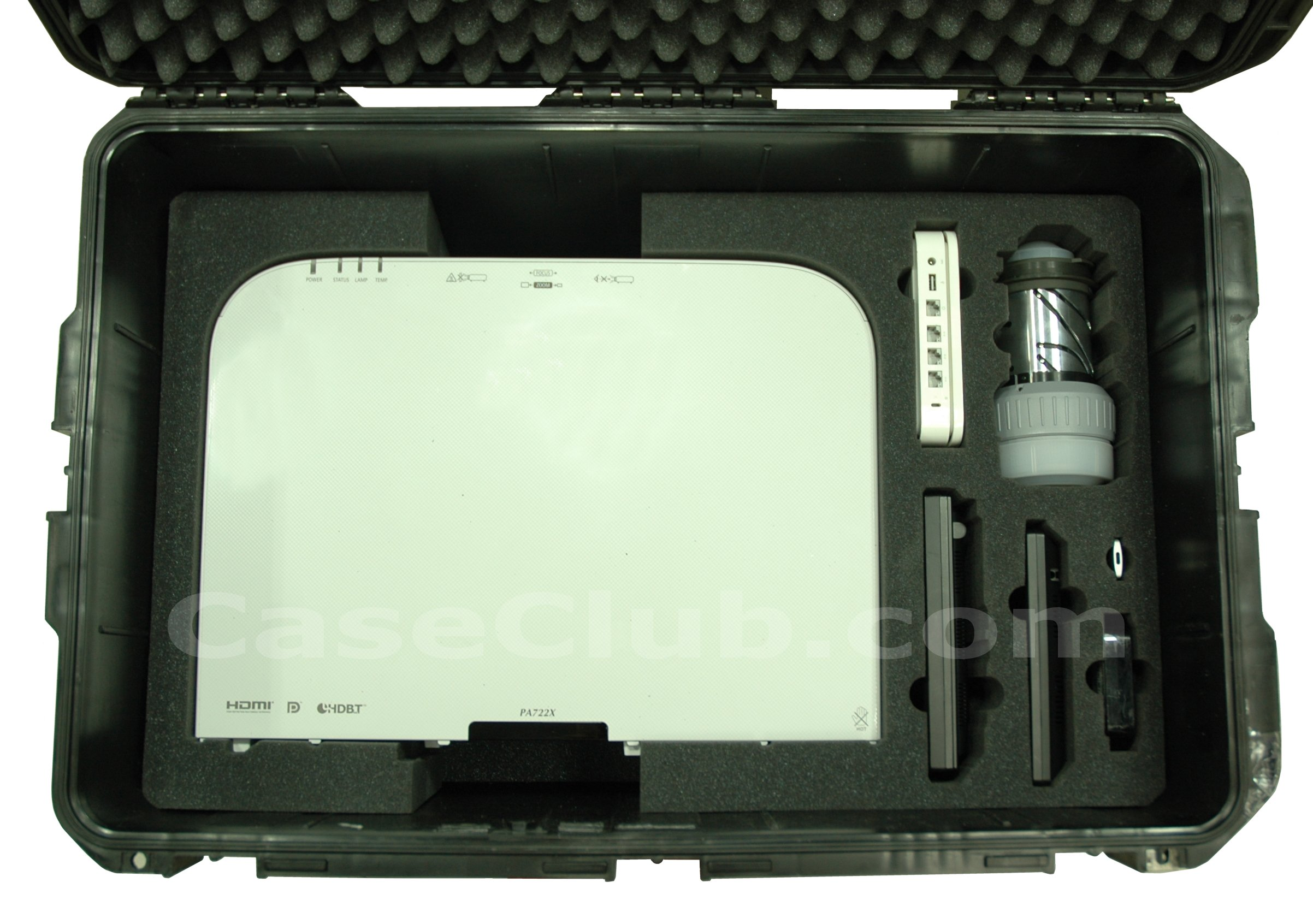 SKB 3I-2918-14 Case Custom Foam Example: FSR CP-200 Dual Channel Switcher