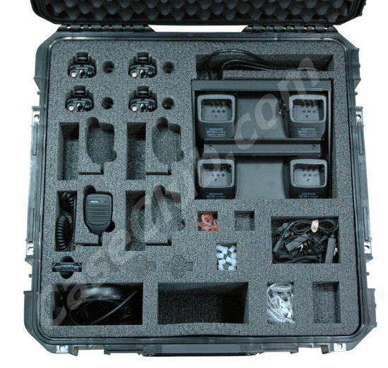 Kenwood Nexedge NX-340 Portable Radio Case - Foam Example