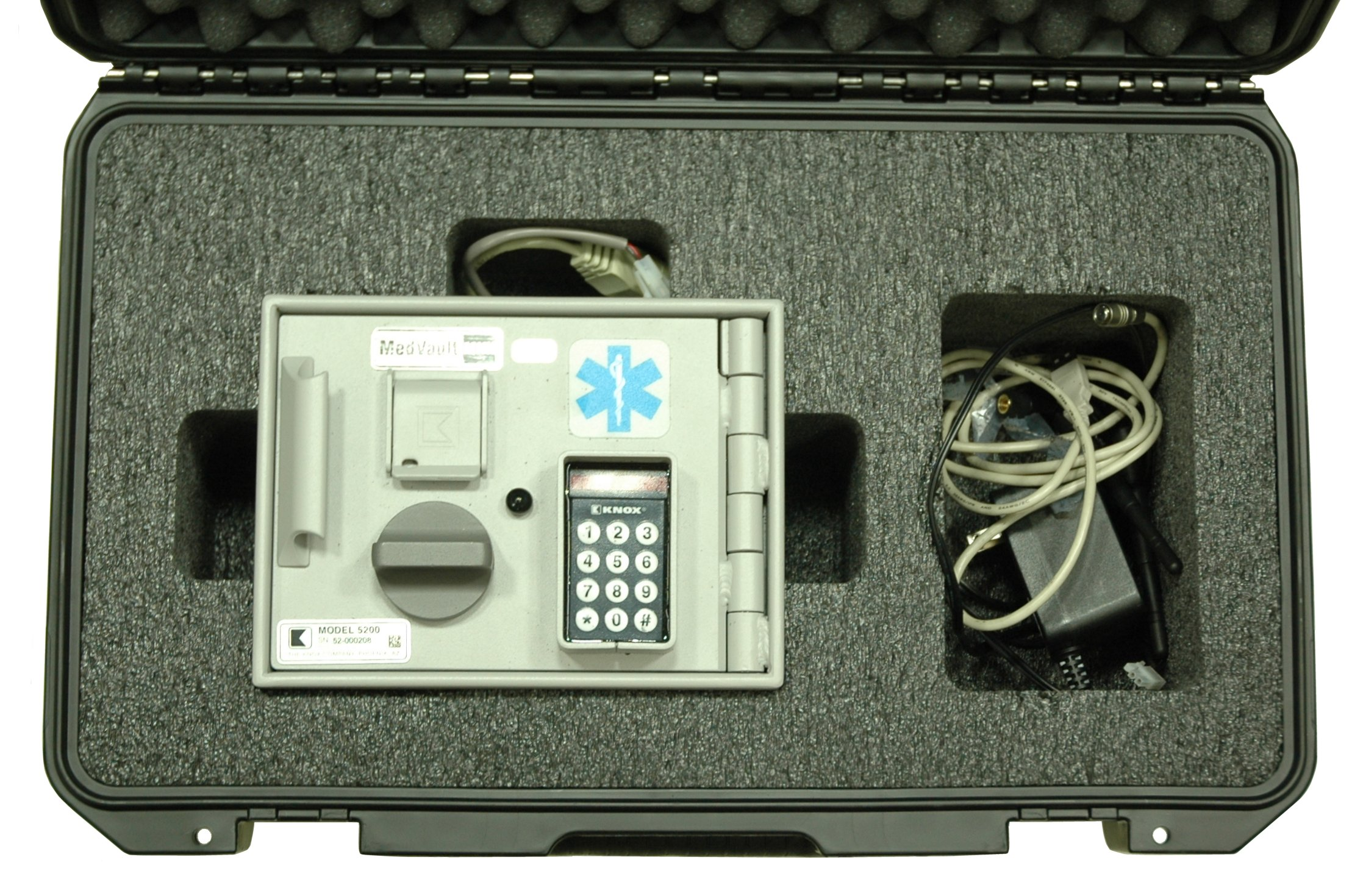 Knox 5200 MedVault Mini Case - Foam Example for: Case Club CC2500IMPE Case