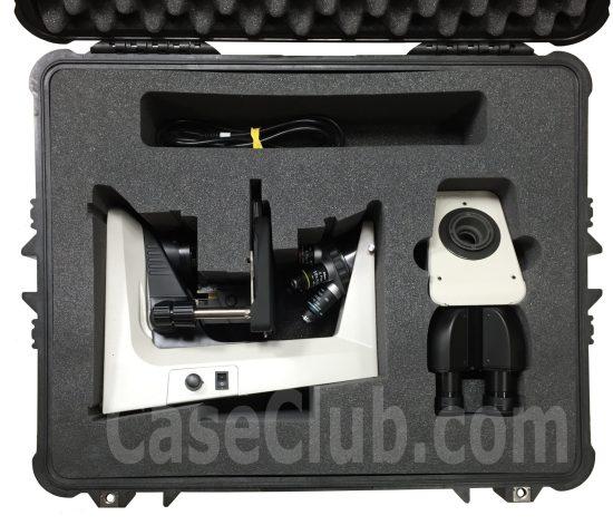 Nikon Eclipse E200 Microscope Case - Foam Example