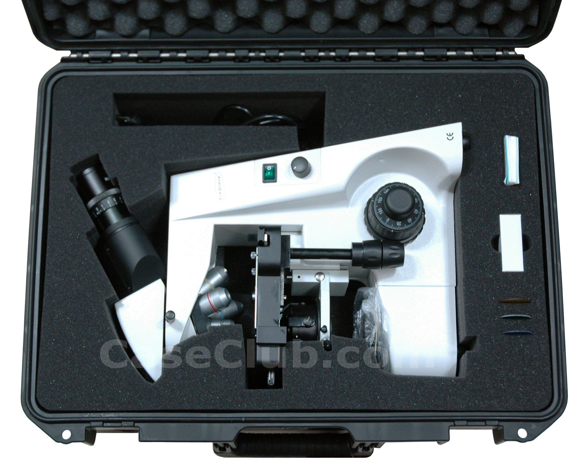 Case Club CC2620IMPE Case Custom Foam Example: Premiere MIS-5000 Microscope Case