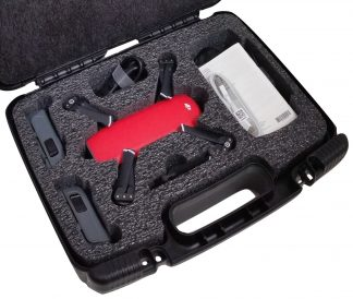 Case Club CC6777TCFL Case Custom Foam Example: DJI Spark Drone Carry Case