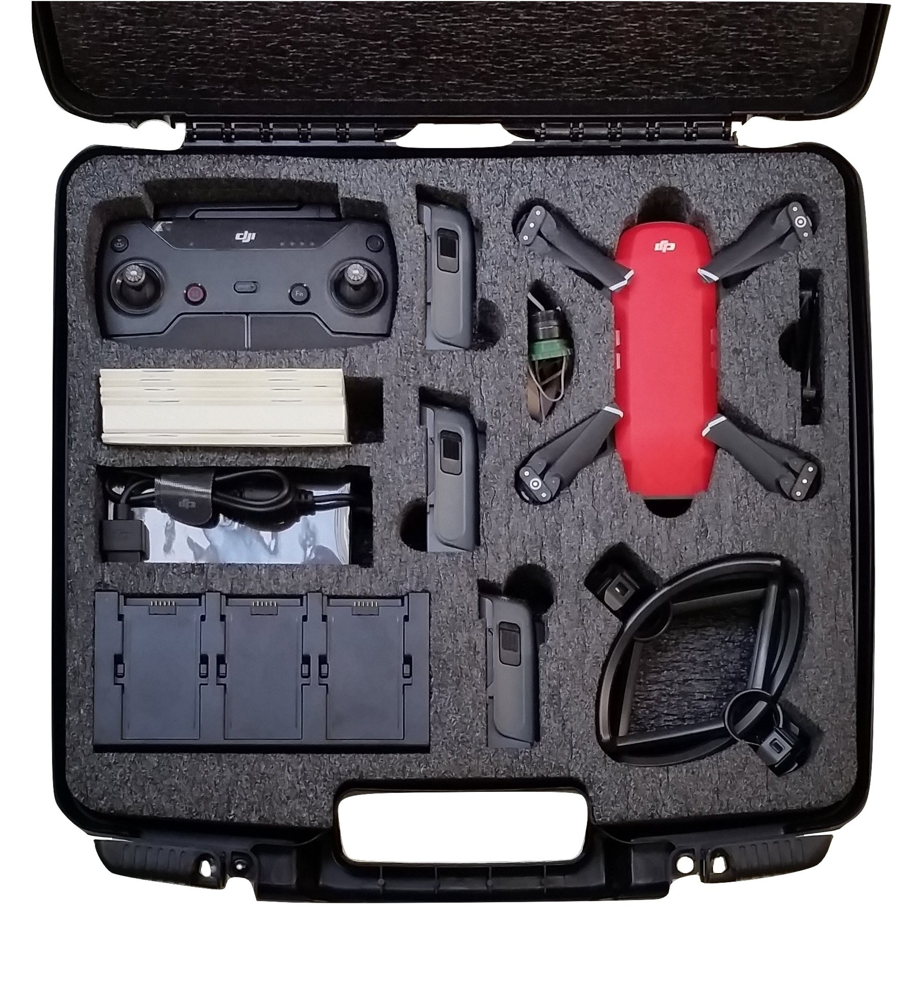 DJI Spark Fly More Drone Carry Case - Spark Cases - Case Club 1e2e90f9ad94