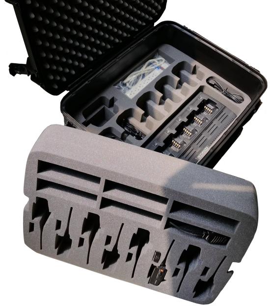 Kenwood Nexedge NX-420 Portable Radio Case - Foam Example