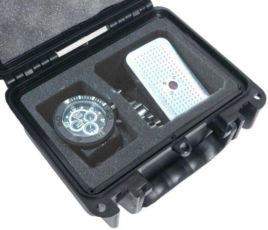 Single Watch & Accessory Case - Foam Example