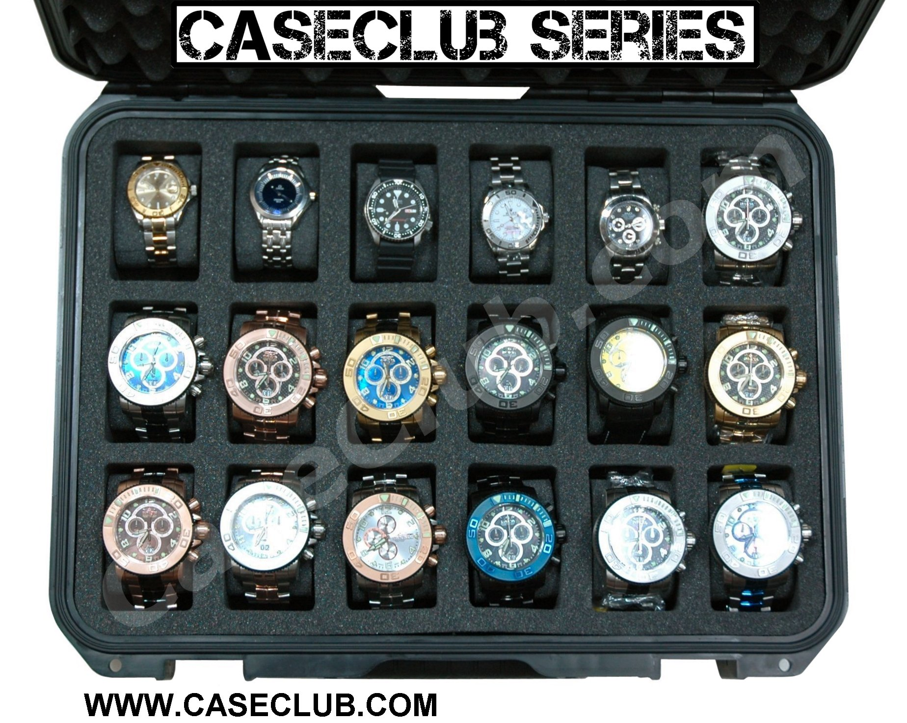 18 watch case - large sized watches