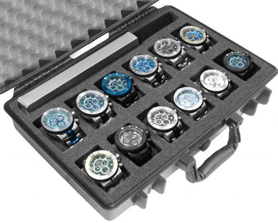 12 Watch & Accessory Case - Foam Example