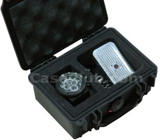 Single Watch & Accessory Case - Foam Example