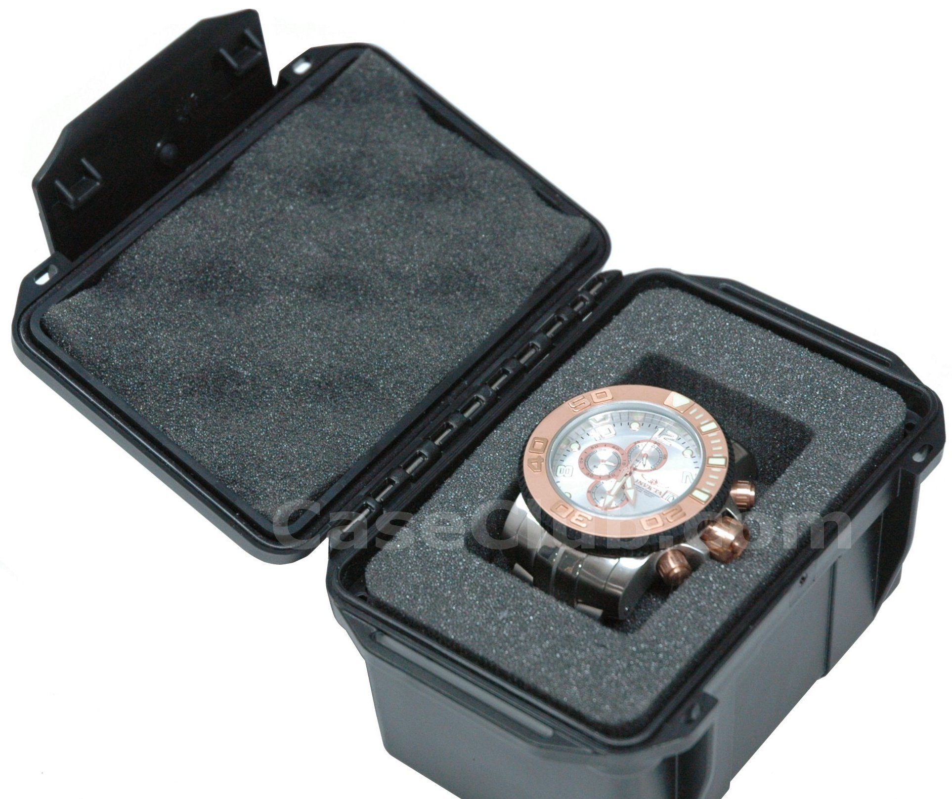Case Club CC406UK Case Custom Foam Example: Single Watch Case