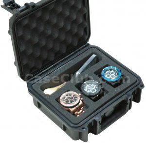 3 Watch & Accessory Case - Custom Foam Example