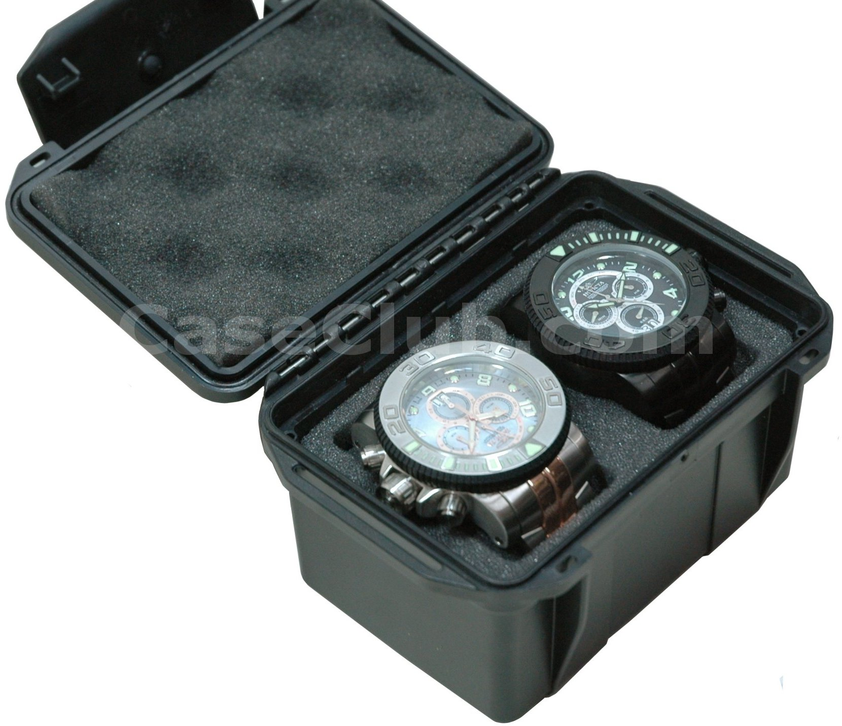 Case Club CC406UK Case Custom Foam Example: 2 Watch Case
