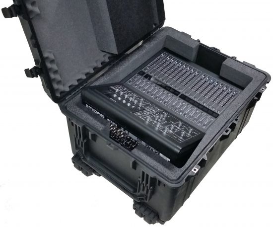 Midas M32R Digital Mixer & DL16 Stage Box Case - Foam Example