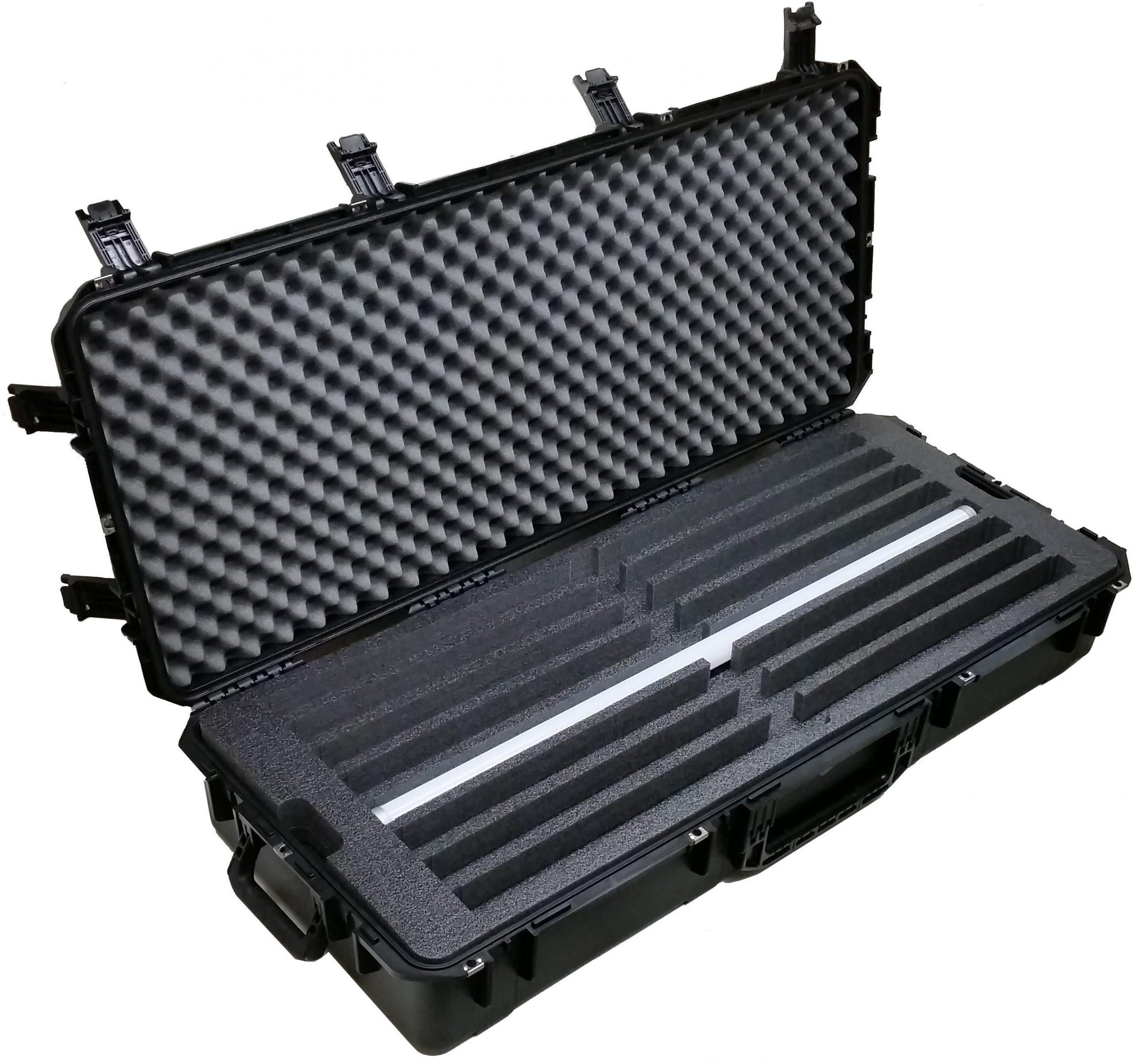 Case Club CC471983ISK Case Custom Foam Example: Astera LED AX1-U PixelTube Light Case