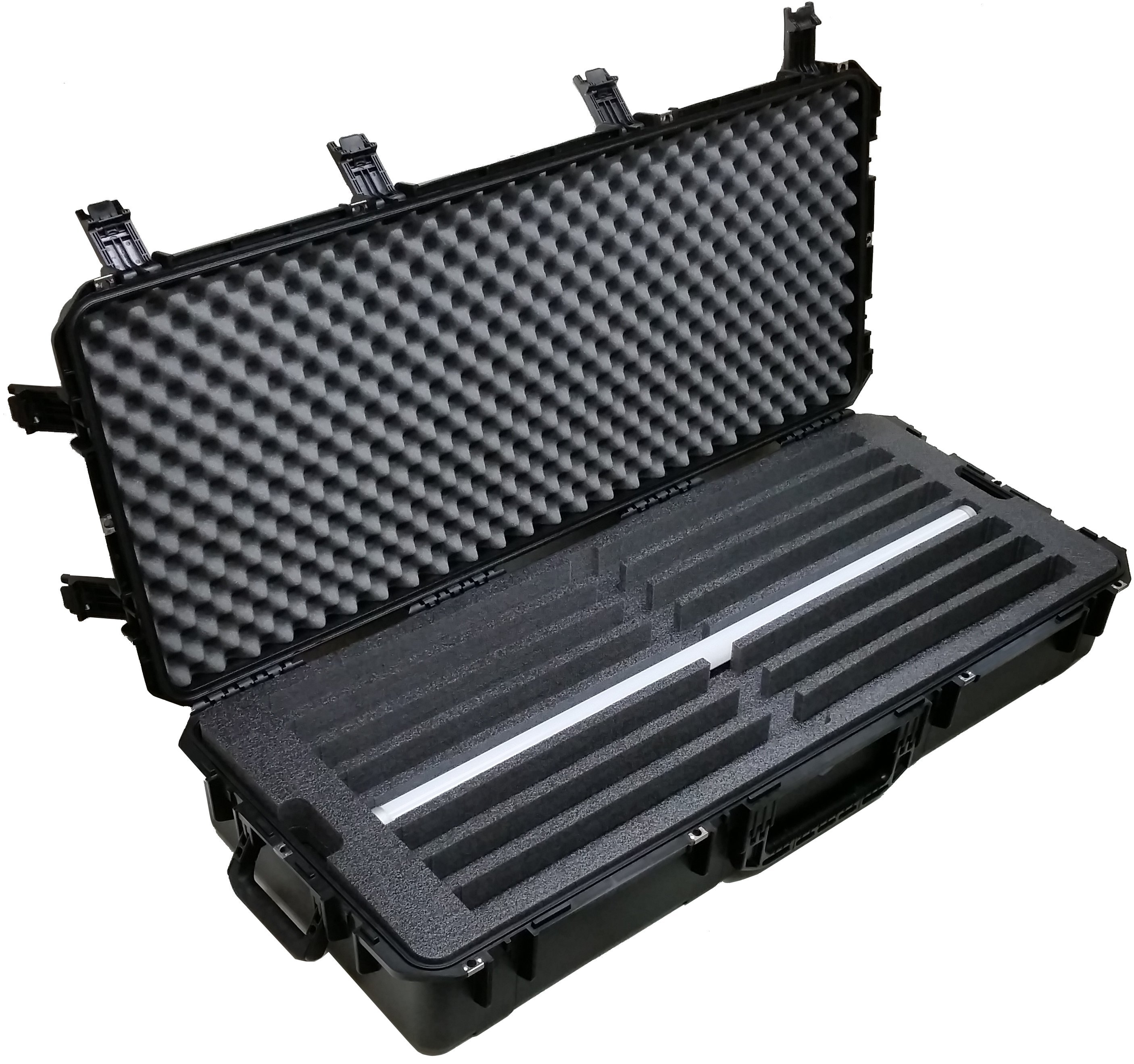 Case Club CC471983ISK Case Custom Foam Example: Astera LED AX1-U PixelTube Light Case