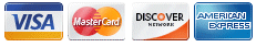 Case Club accepts Visa , Master Card, Discover, American Express and Paypal as payment forms