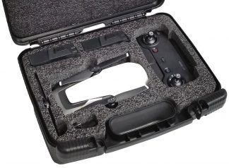Case Club CC6777TCFL Case Custom Foam Example: DJI Mavic Air Carry Case