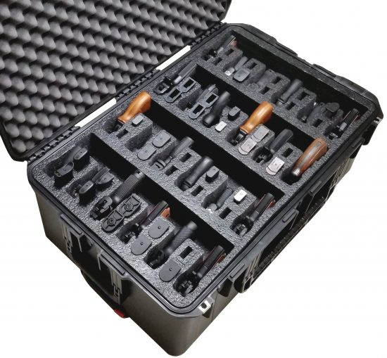 24 Pistol Case - Foam Example