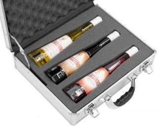 Case Club CC15CLSTZ Case Custom Foam Example: Galliano Spirit Bottle Case