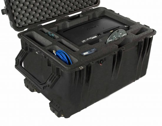 Video Production Travel Case - Foam Example