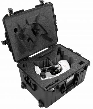Pelican™ Air 1607 Case Custom Foam Example: Motic Panthera L Microscope Case