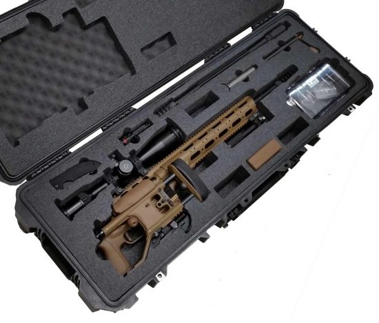 Sako TRG.338 Lapua Rifle Case - Foam Example