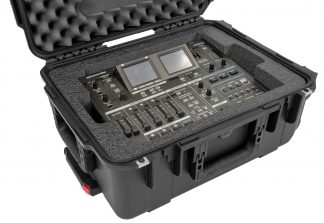Roland VR-5 Mixer Case - Foam Example