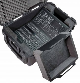 SKB 3I-3019-12 Case Custom Foam Example: Midas M32R Digital Mixer Case