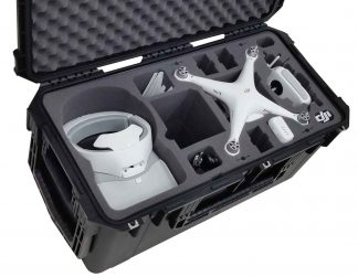 SKB 3I-2914-15 Case Custom Foam Example: DJI Phantom 4 With DJI Goggles Case