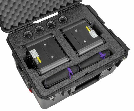 ADJ Ikon IR Projector Case - Foam Example