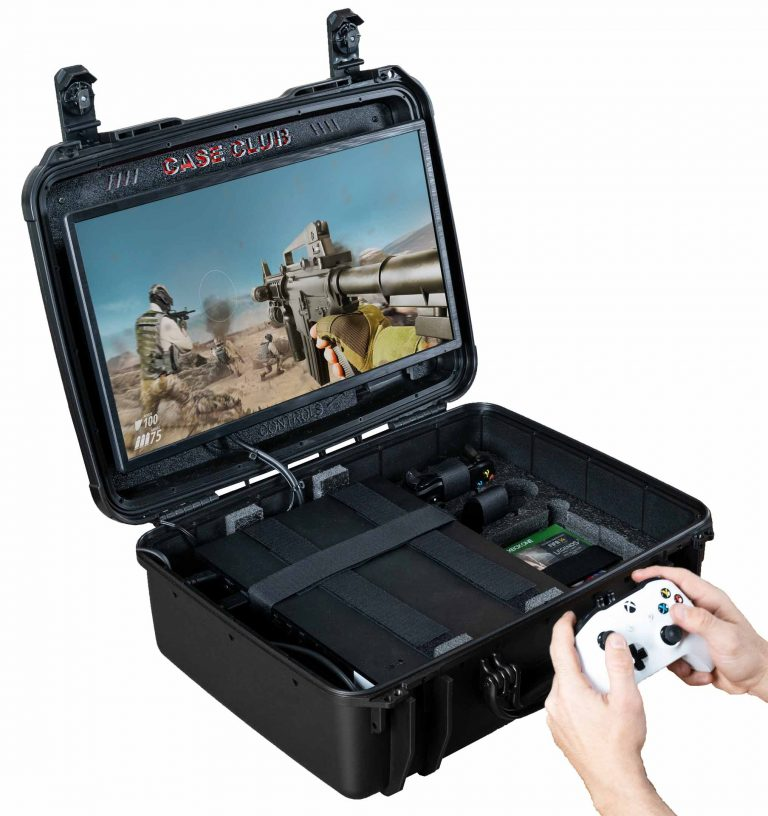 Xbox X / S Portable Gaming Station with Monitor