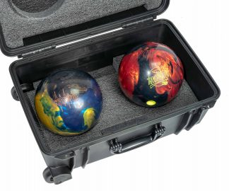 Custom Foam: Double Bowling Ball Case