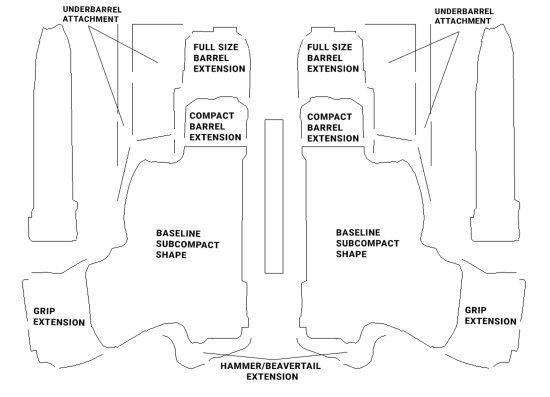 2 pistol case pistol diagram