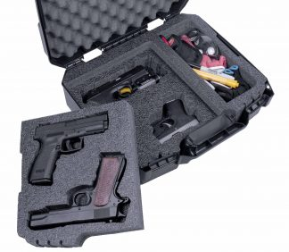 Case Club CC6792CCFL Case Custom Foam Example: 4 Pistol