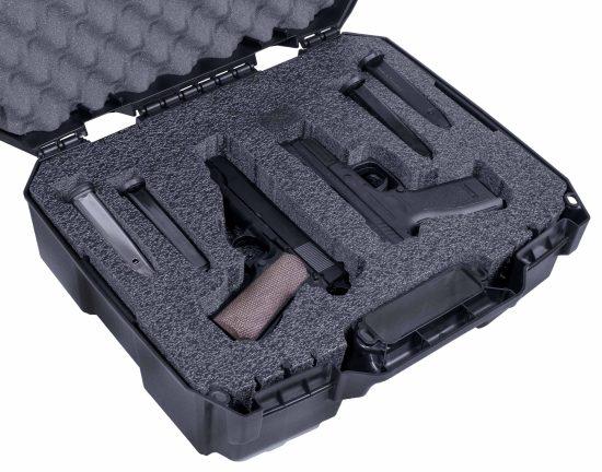2 Pistol Carry Case - Foam Example