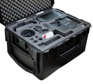 SKB 3I-2922-16 Case Custom Foam Example: Video Conferencing Travel Case