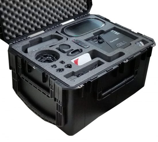 Video Conferencing Travel Case - Foam Example