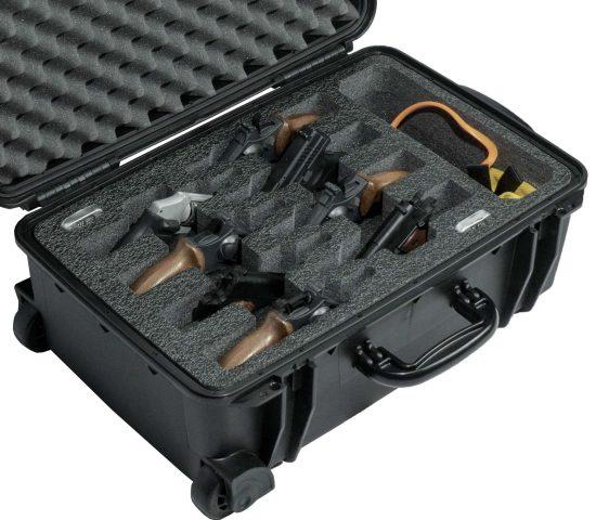 8 Revolver & Accessory Case - Foam Example