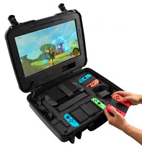 Nintendo Switch Portable Gaming Station with Built-in Monitor - Instructions