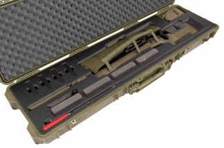 Pelican™ 1750 Case Custom Foam Example: Remington 700 L.H. Rifle Case