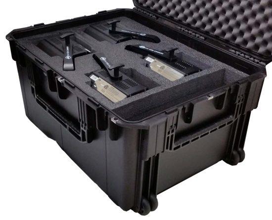 UV COB Cannon Case - Foam Example