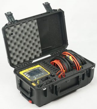 Custom Foam: Fluke 1734 Three Phase Electrical Energy Logger Kit Case
