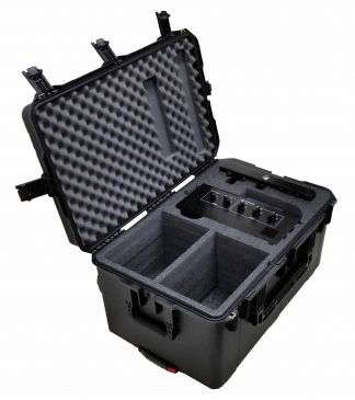 SKB 3I-2918-14 Case Custom Foam Example: MotoCrane Command Console Case