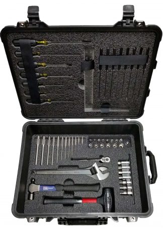 Custom Foam: Assorted Tool Case 3