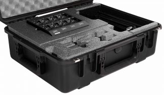 Case Club CC201573ISK Case Custom Foam Example: Shure Microphone SM58 Vocal Kit Case