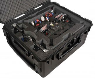 SKB 3I-3026-15 Case Custom Foam Example: Gryphon Dynamics Drone Case