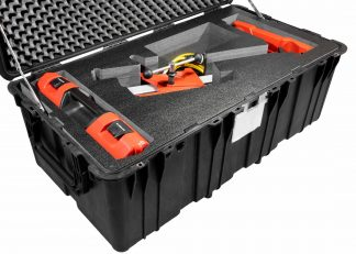 Pelican™ 0550 Case Custom Foam Example: Hilti Diamond Drill DD-160 Kit Case