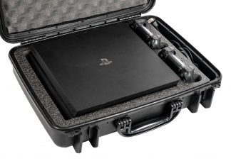 PlayStation 4 Pro / PS4 Pro Heavy Duty Travel Case - Foam Example