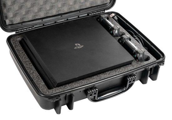 PlayStation 4 Pro Heavy Duty Travel Case - Foam Example